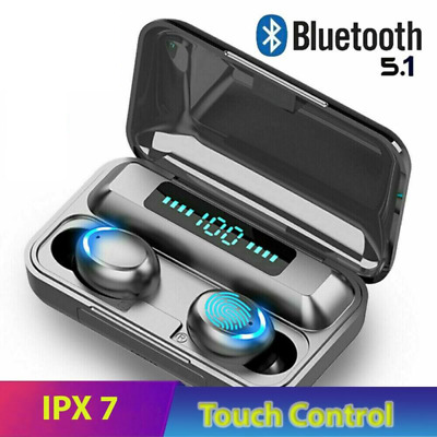 $ CDN17.28 • Buy Bluetooth Earbuds For Iphone Samsung Android Wireless Earphone IPX7 WaterProof