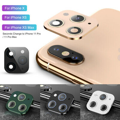 £2.88 • Buy Fake Camera Len Sticker Cover Protector For IPhone X Change To IPhone 11 Pro Max