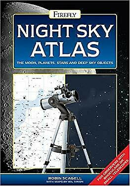 £4.43 • Buy Night Sky Atlas : The Moon, Planets, Stars And Deep Sky Objects R
