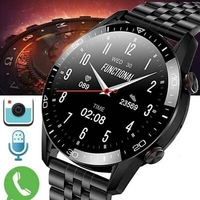 AU51.99 • Buy Smart Watch IP68 PPG ECG Blood Oxygen Pressure Heart Rate For Android IPhone AU