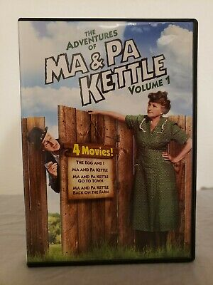 $2.99 • Buy The Adventures Of Ma And Pa Kettle Volume 1 DVD, 1949