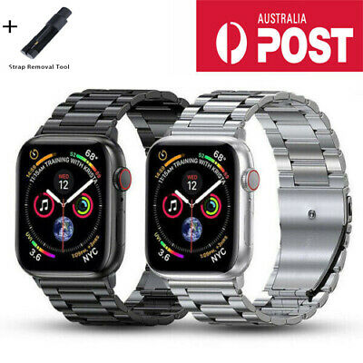 AU21.99 • Buy Stainless Steel IWatch Band For Apple Watch Series 5 4 3 2 1 6 SE Metal Strap