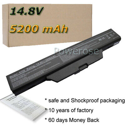 £21.50 • Buy For HP Compaq 610 615 550 6720s 6730s 6735s 6820s Battery 491278-001 HSTNN-IB51