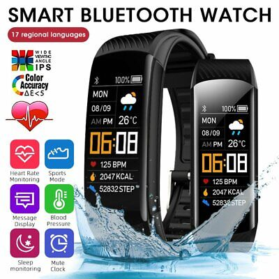 AU15.49 • Buy FIT BIT Smart Watch Heart Rate Monitor Barometer Sport Fitness Tracker Bracelet
