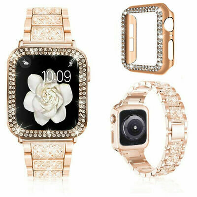 AU19.99 • Buy Apple Watch Bands Strap & Protective Case IWatch Series SE 6 5 4 3 2 40/44 38/42