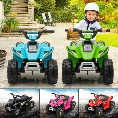 AU79.95 • Buy Kids Electric Ride On ATV Quad Bike 4 Wheeler Toy Car Rechargeable Battery 6V