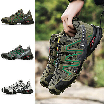 £24.89 • Buy Men Non-slip Hiking Shoes Casual Outdoor Walking Trekking Sneakers Trainers