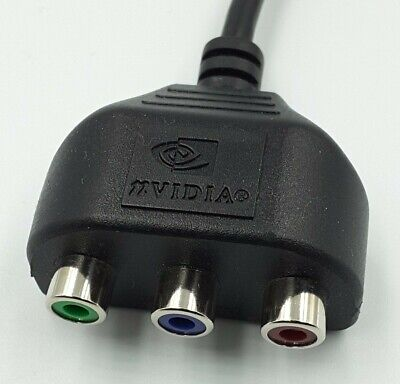 £18.99 • Buy UK NVidia CompuPack 5511A001-002-RS1 7 Pin S-Video HDTV Video Adapter E3