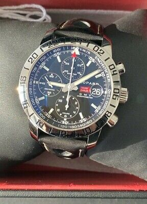 £3000 • Buy Chopard GMT Chronometer.Full Box & P 48 Hour Power Reserve.Chopard Mille Miglia