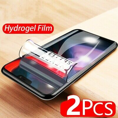 AU2.83 • Buy 2Pcs Hydrogel Soft Film For Oneplus 9 8 Pro 7 7T 6 6T 5 5T 8T Screen Protector