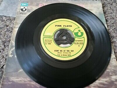 £2 • Buy Pink Floyd Point Me At The Sky Italian Single Record Good Cover Fair With Slight