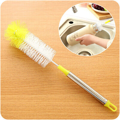 £3.36 • Buy Bottle Cleaning Brush Kitchen Brew Long Handle Scrubbing Clean Tool 32.5cm