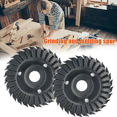 £12.39 • Buy Electric Angle Grinder Shaping Blade Wood Carving Disc Cutting Woodworking Tools