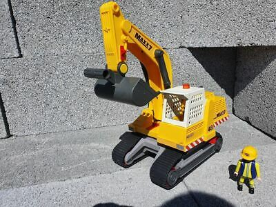 £18.95 • Buy Playmobil Used / Clearance Construction Site Yellow Tracked Digger