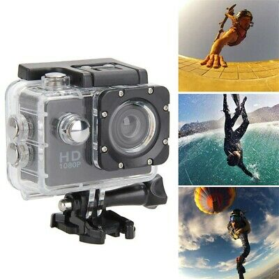 AU20.99 • Buy 1080P Ultra HD Sports Action Camera DVR Cam Camcorder Waterproof Recorder GoPro