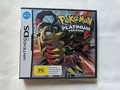 AU149 • Buy NO GAME CASE AND MANUAL ONLY Pokemon Platinum Genuine Nintendo DS M