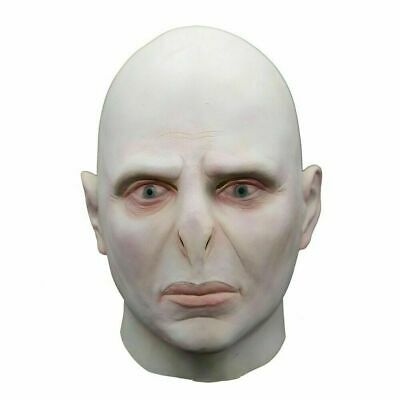 £7.99 • Buy Adult Halloween Harry Potter Lord Voldemort Cosplay Latex Mask Costume Props
