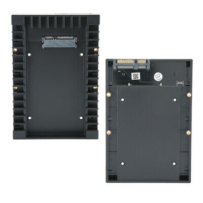 AU17.84 • Buy SSD Mounting Bracket 2.5-inch To 3.5-inch Hard Drive Adapter SSD Mounting ASN