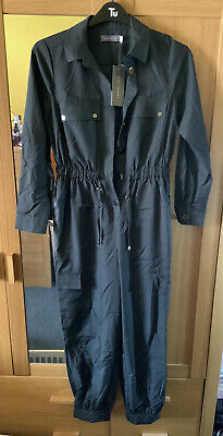 £75 • Buy New Dark Grey All In One Jump Suit By Mint Velvet - Size 10 Rrp £119 Boiler