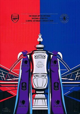 £17.99 • Buy FA CUP FINAL PROGRAMME 2020 Chelsea V Arsenal - Slightly Marked Back Cover