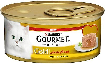 £12.99 • Buy Gourmet Gold Wet Cat Food Savoury Cake Chicken Can Adult 85 G Pack Of 12