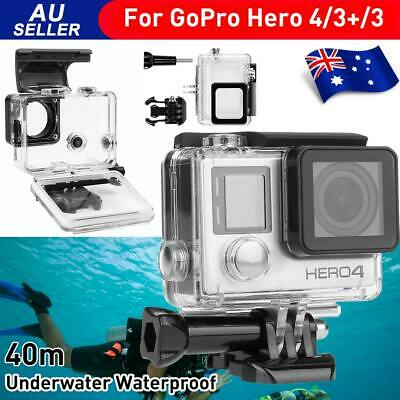 AU17.95 • Buy Waterproof Diving Protective Case Housing For Go Pro GoPro Hero 3 3+ 4 Camera OZ
