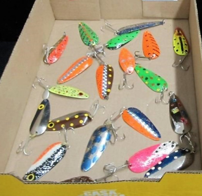 $ CDN37.09 • Buy Spoons Fishing Lure Lot Of 20 Mixed Lure Lot