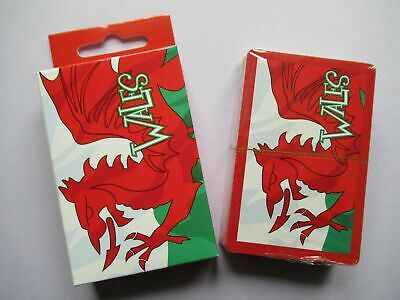 £3.95 • Buy NEW Collectable Welsh Wales Flag Cymru Dragon Souvenir Playing Cards Pack
