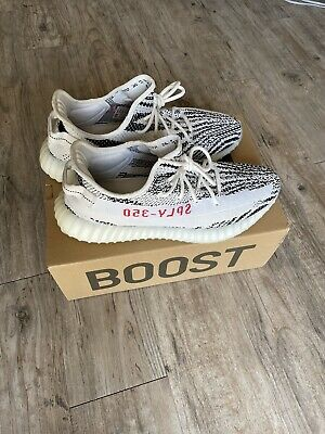 $ CDN453.73 • Buy Adidas Yeezy Boost 350 V2 Zebra Size 13 Preowned VERY CLEAN!  OG Box/Laces