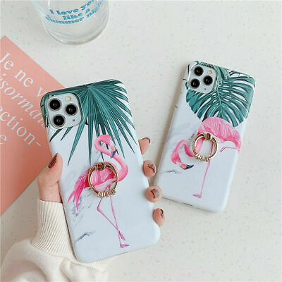 AU12.55 • Buy Phone Cover For IPhone 8 7 + Pro MAX XR 11 12 Mini Finger Ring ShockProof Case