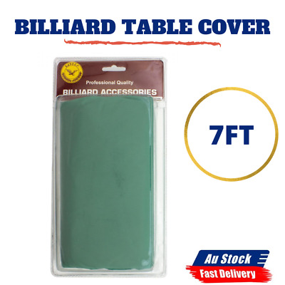 AU22.69 • Buy 1x 7 Ft Pool Snooker Billiard Table Cover