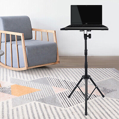 AU49 • Buy Projector Tripod Stand Bracket Adjustable Holder With Tray For Notebook Laptop