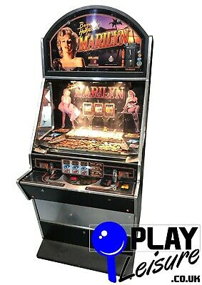 £1295 • Buy Marilyn Monroe 2p Coin Pusher Arcade Machine - Ready To Play - Games Room