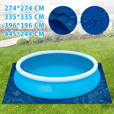 £12.59 • Buy Swimming Pool Floor Protector Mat Paddling Mats Square Ground Cloth Sheet Cover
