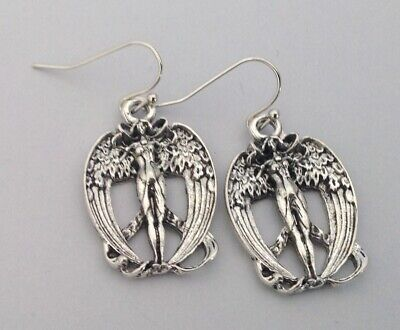 $ CDN21.78 • Buy Lilith Earrings Art Nouveau Goddesses Vintage Jewelry Art Nouveau Jewelry