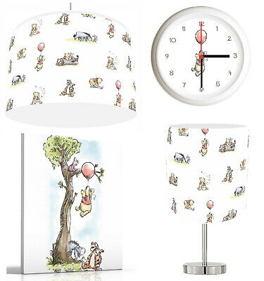 £14.99 • Buy BABY WINNIE THE POOH  Lampshade , Stick Lamp , Wall Art , Wall Clock OR Bundle
