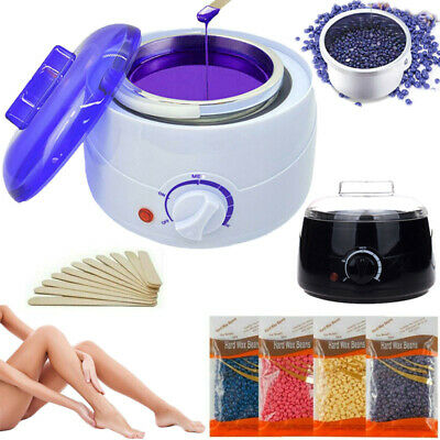 $20.15 • Buy Professional Wax Warmer Heater Hair Removal Depilatory Home Waxing Beans &Sticks