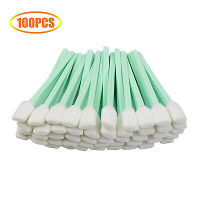 AU17.12 • Buy Cleaning Foam Swabs Sticks Fit For Roland Mimaki Mutoh Epson Printer 100Pcs AU