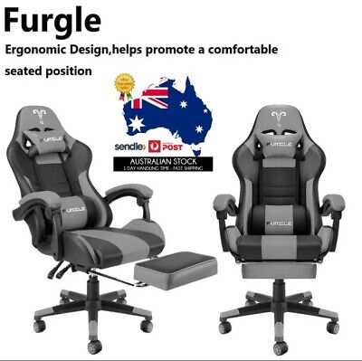 AU239.99 • Buy Furgle PC Gaming Chair Ergonomic Office Chair-Lumbar, Arms & Head Support - AU