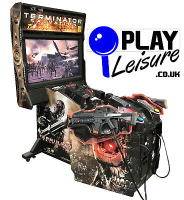 £2295 • Buy Terminator Salvation Arcade Machine - Ready To Play - Games Room Man Cave