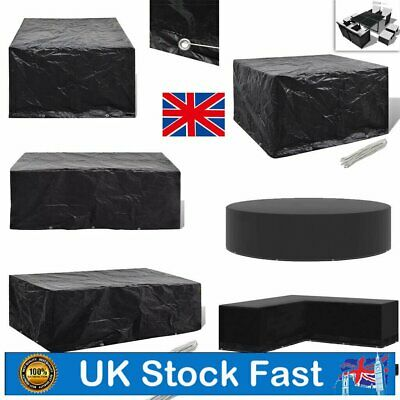 £35.19 • Buy Waterproof Garden Patio Furniture Set Cover Covers For Outdoor Rattan Table Cube