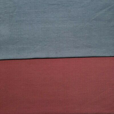 £4.99 • Buy Cotton Lycra Jersey Fabric 4-Way Stretch 55  Sold By The Metre T-shirt,Dress