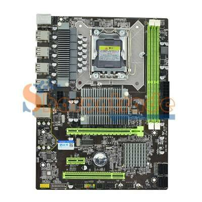 $ CDN96.56 • Buy Hongshuo X58 Pro PC Desktop Computer Gaming Motherboard LGA 1366 Socket