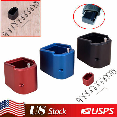 $20.98 • Buy For Smith/Wesson M&P Full Size +6/+5 9mm/40 Aluminum Magazine Extension Base Pad