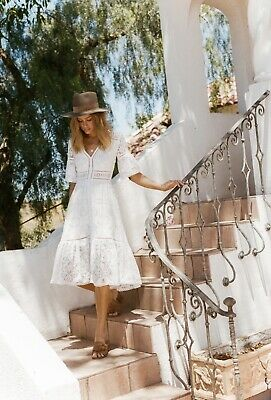 AU280 • Buy Spell And The Gypsy Clover Lace Gown White Size XL