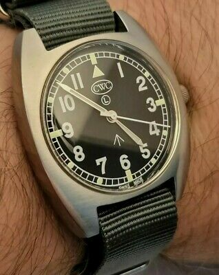 $ CDN451.71 • Buy CWC T20 Royal Navy Men Watch With Box&papers Extra New Nato Strap