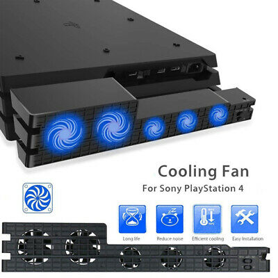 AU19.59 • Buy 5 Fan For PS4 Game Accessories Play Station 4 Host Cooling Fan Cooler External