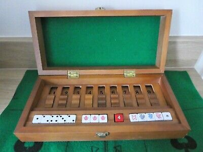 £22 • Buy Vintage Dice Gallery Compendium Poker Dice/Shut The Box. Great Condition.