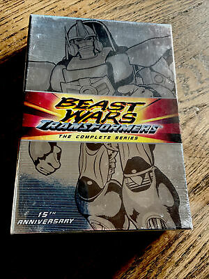£165.25 • Buy Transformers: Beast Wars Complete Animated TV Series 8-DVD Set New Sealed Robots