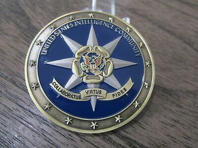 £19.99 • Buy United States Intelligence Community Grim Reaper IC Challenge Coin USA